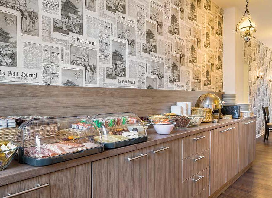 Hotel Astoria Frühstücksraum