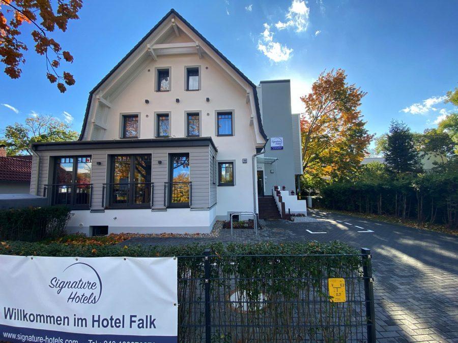 Aussenansicht Hotel Falk Hamburg