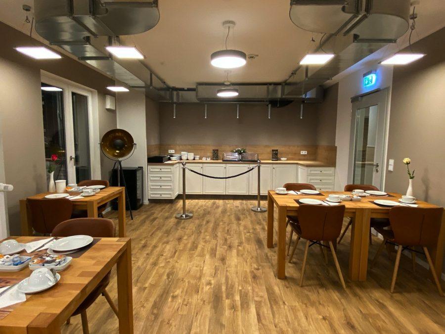 Restauration im Hotel Falk Hamburg