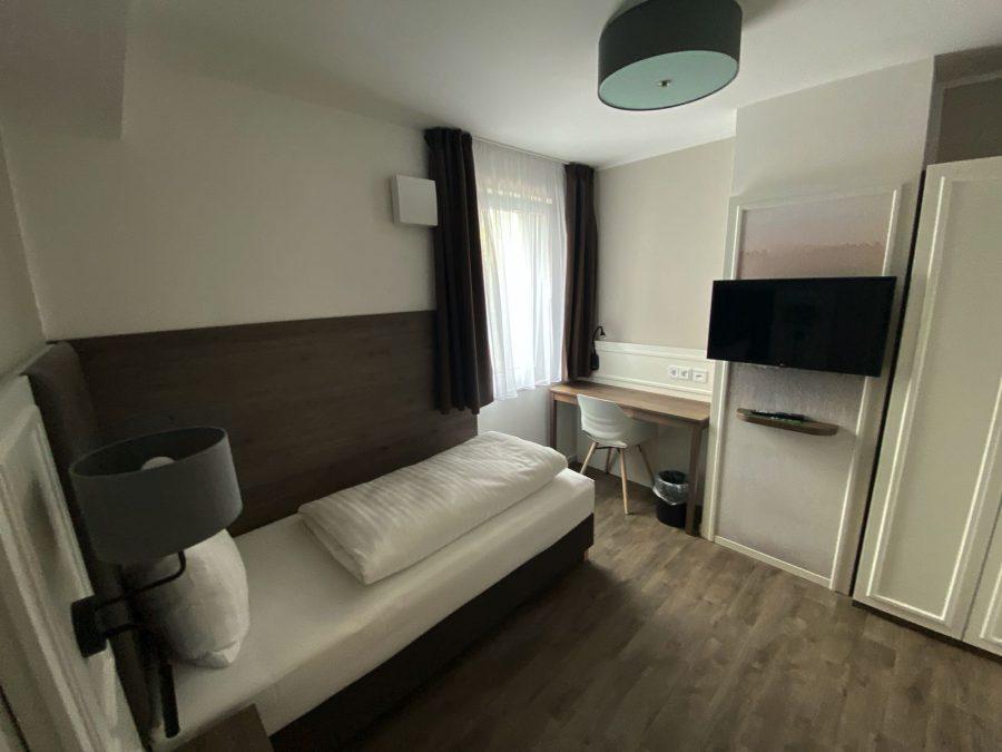Einzelzimmer im Hotel Falk Hamburg