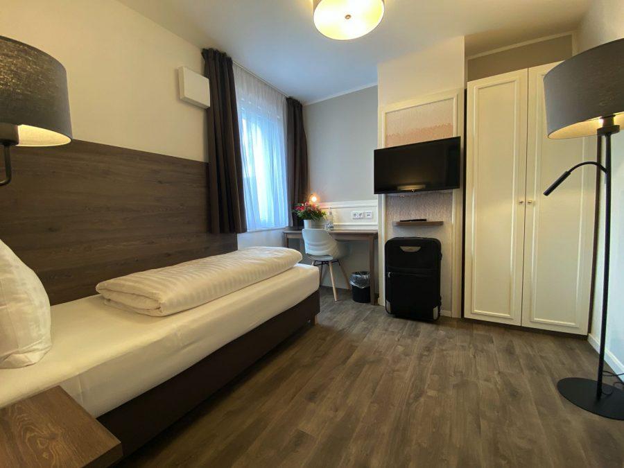 Einzelzimmer Hotel Falk Hamburg
