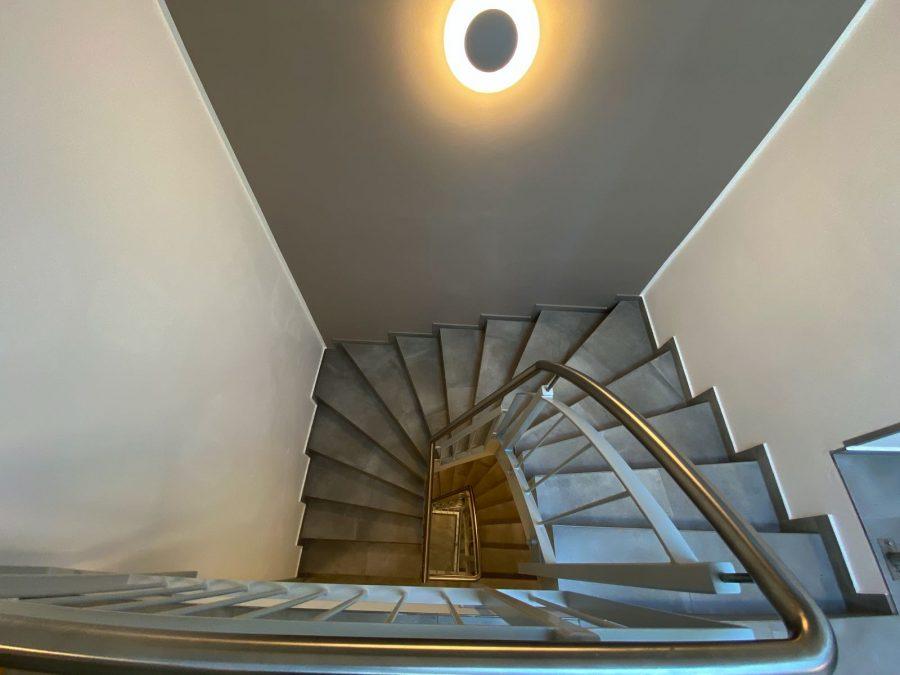 Treppe im Hotel Falk Hamburg