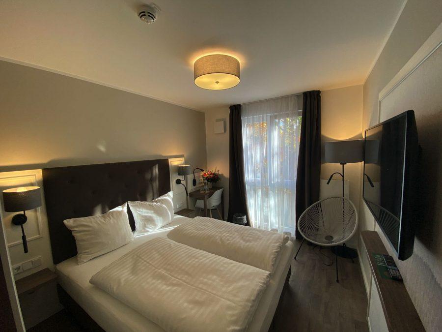 Doppelzimmer im Hotel Falk Hamburg