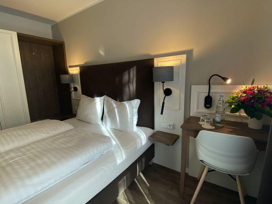 Doppelbett Hotel Falk Hamburg